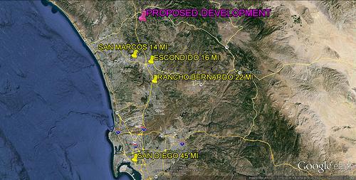 Project location (via Google Earth)